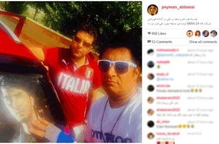 رالی اتومبیل بازیگران به یاد مرحوم علی طباطبایی ! (عکس)