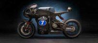 طراحی موتور سیکلت با پیشرانه 250 کیلومتر در ساعت