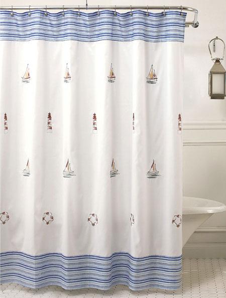 تصاویری از مدل های جالب پرده حمام
