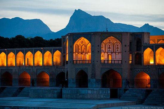 انتشار تصاویر اصفهان از دوربین یک جهانگرد روسی