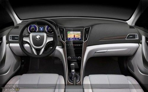 تصاویری از خودروی جدید دنا