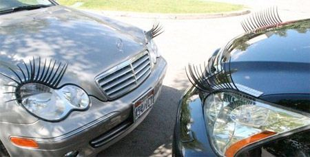 وقتی خانم ها ماشین هم آرایش میکنند (طنز تصویری)