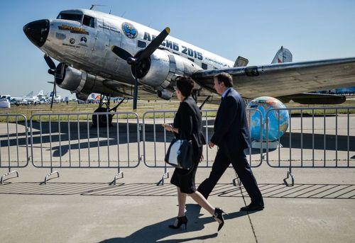 تصاویر نمایشگاه هوایی مسکو 2015