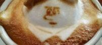 تصاویری از هنرنمایی با قهوه و شیر