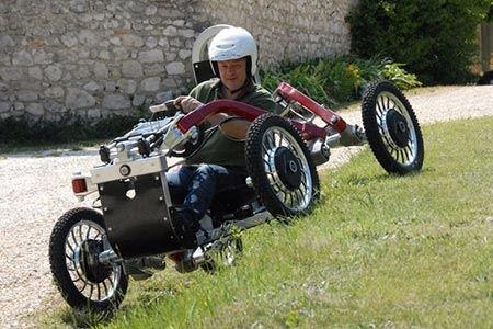 خودروی عنکبوتی جالب ساخته شد !