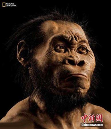 کشف اسکلت یک انسان عجیب در افریقا (عکس)