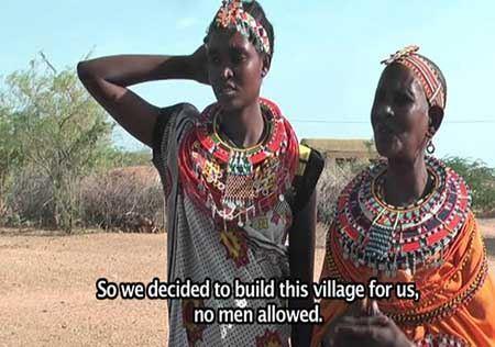 دهکده ای جالب که مرد ندارد + تصاویر
