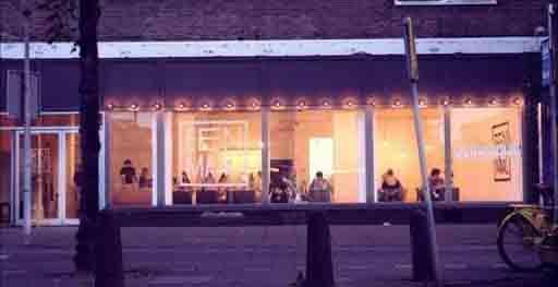 طراحی رستورانی با ایده های نو در هلند + تصاویر