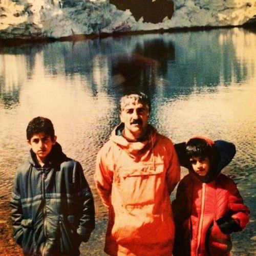 پژمان جمشیدی در 8 سالگی قله سبلان را فتح کرد + عکس