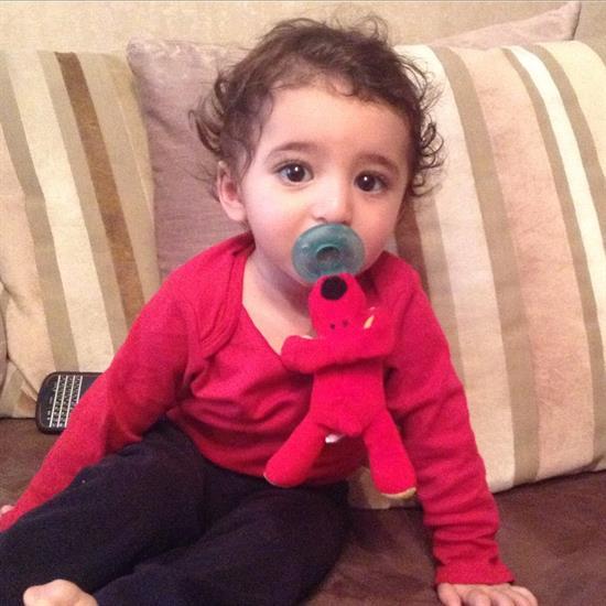 عکس پسر شیلا خداداد سامیار