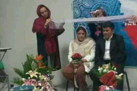 ازدواج جالب زنی با یک معتاد کارتن خواب +عکس