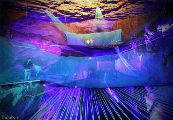 بزرگترین مکان تفریحی زیر زمینی در غار والش انگلیس