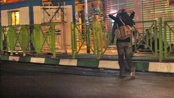دختران خیابانی و فراری در تهران 12 شب به بعد  (عکس)