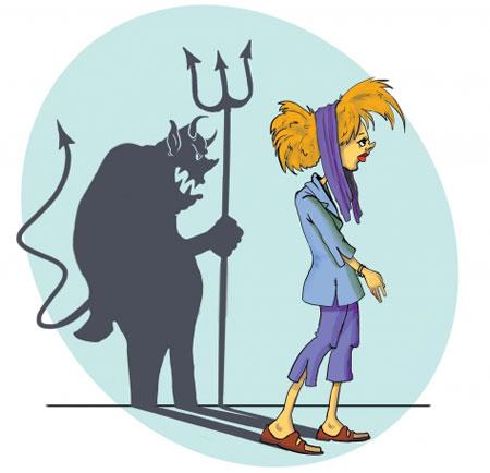 کاریکاتورهای جالب بد حجابی