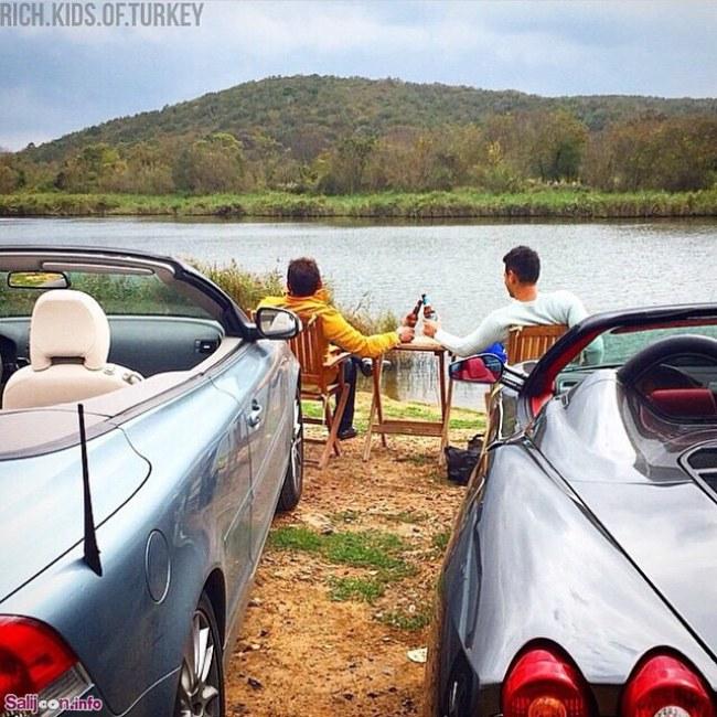 عکس هایی جالب از بچه پولدارهای ترکیه