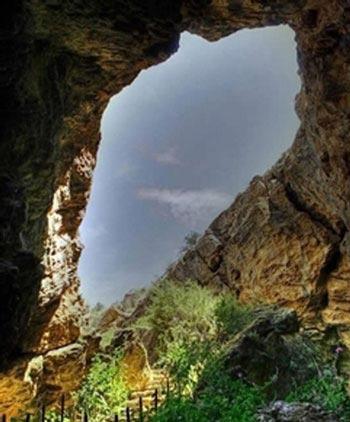 آشنایی با غار بورنیک در فیروزکوه + تصاویر