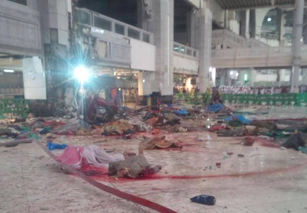 کشته شدن 87 نفر در مکه + تصاویر