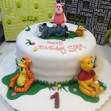 عکس های کیک تولد زیبا مخصوص بچه ها