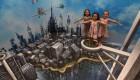 بزرگترین نقاشی های سه بعدی فضای باز (عکس)