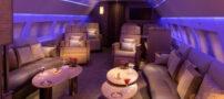 گرانترین پرواز دنیا با این هواپیمای لوکس (+ تصاویر)