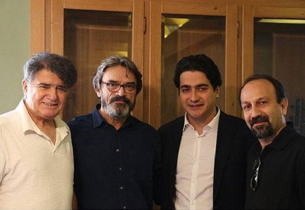اصغر فرهادی در کنار استاد شجریان + عکس