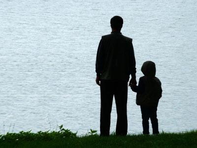 پدری مهربان که همه دنیا عکسش را پسندیدن !