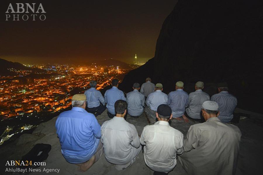 تصاویری دیدنی از غار حراء در حج امسال