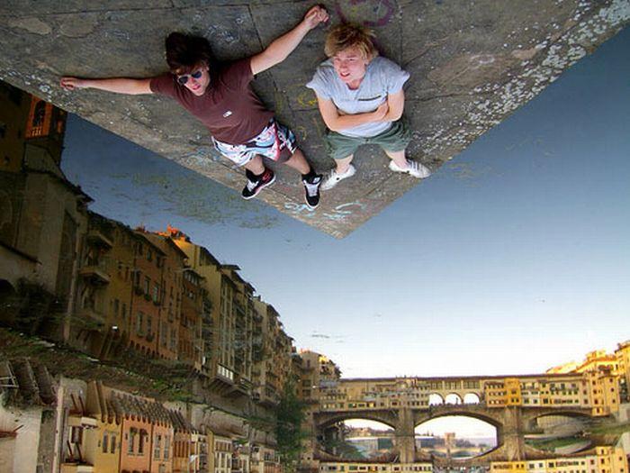 عکس های جالب از خطای دید سه بعدی با عکاسی