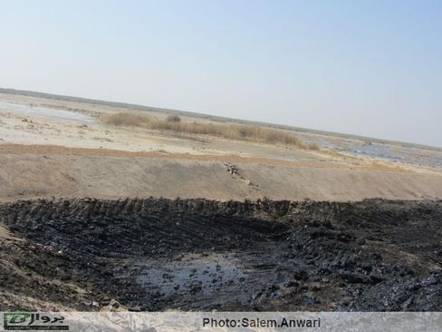 اکتشاف نفت، هورالعظیم را قبض روح کرد (+عکس)
