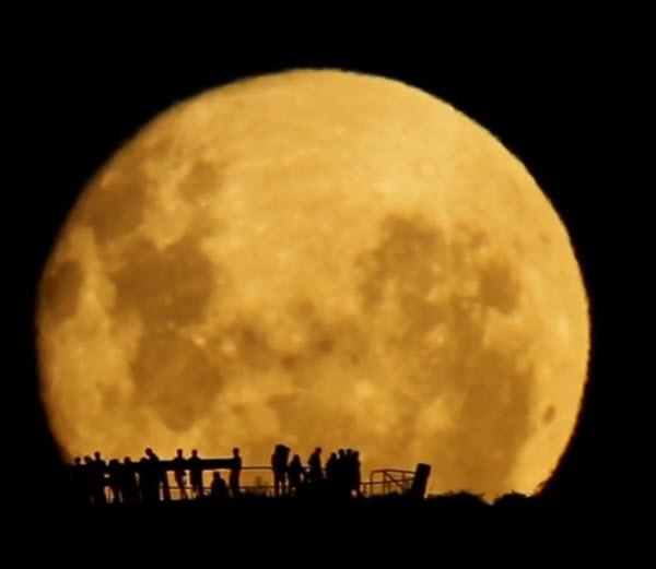 تصاویر ماه در نزدیکترین فاصله اش با زمین