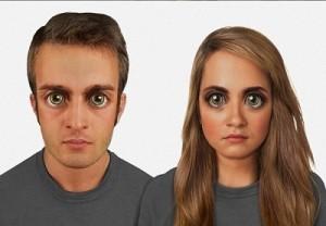 پیش بینی چهره افراد از امروز تا 100 هزار سال دیگر