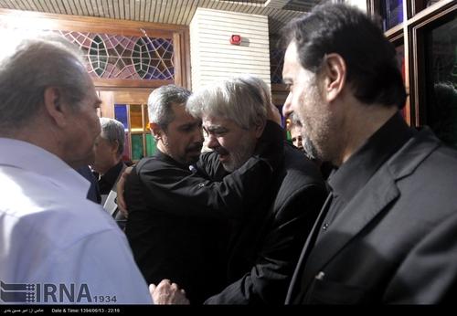 مجلس ترحیم بازیگر جوان با حضور چهره های معروف (عکس)