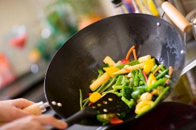 سرخ کردن غذا به روش رژیمی