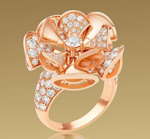 مدرن ترین مدل های طلا و جواهر با برند Bulgari