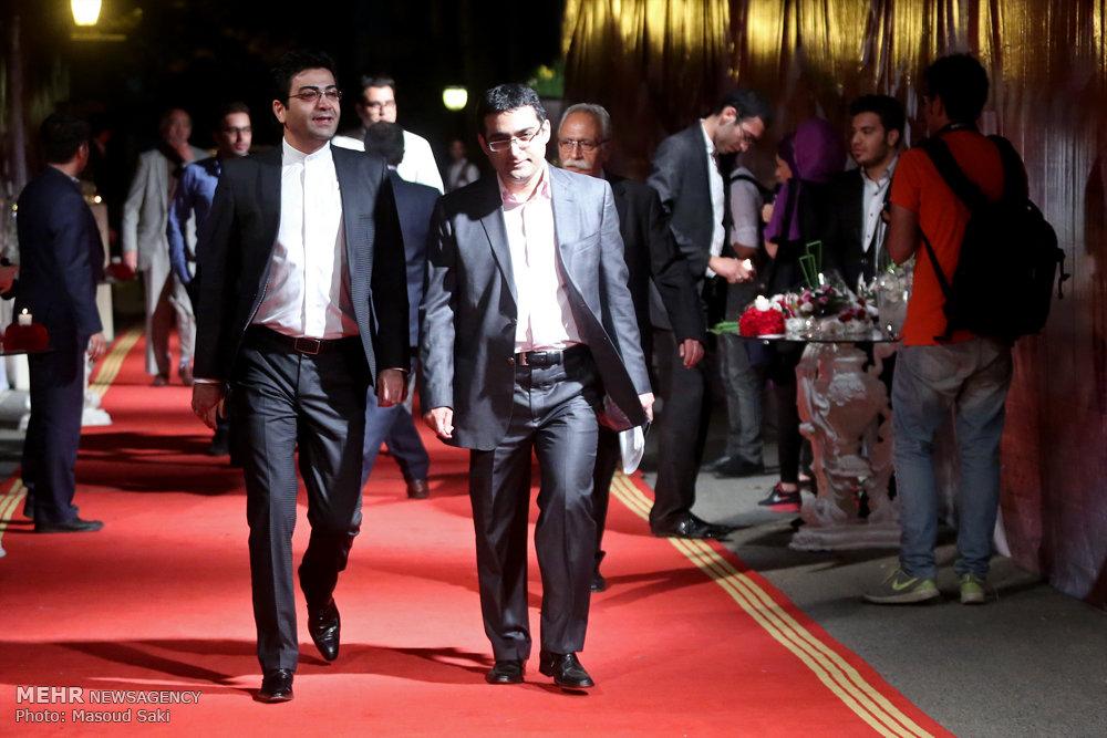تصاویری از حضور بازیگران تلویزیون و سینما در جشن ملی سینما