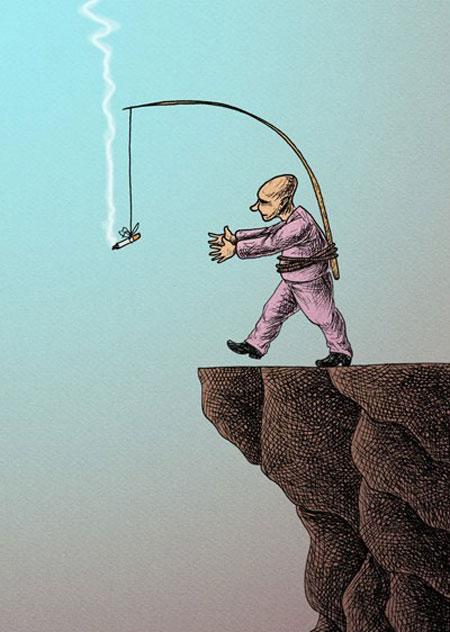 کاریکاتورهای جالب اعتیاد به مواد مخدر