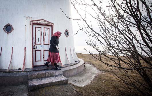 جزیره جالب زنان در ایسلند (+عکس)