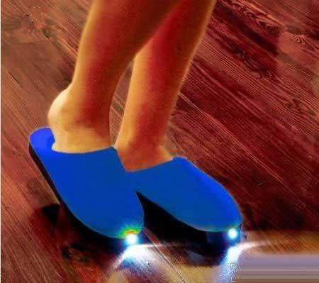 جالب ترین پا پوش های دنیا (تصویری)