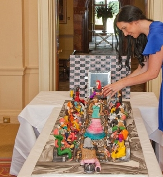 گران ترین کیک دنیا (+عکس)