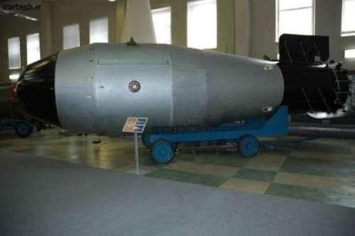 مهیب ترین بمب اتمی جهان در روسیه (+عکس)
