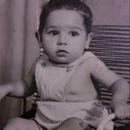 عکس جالب از کودکی بازیگر داریوش سلیمی
