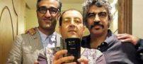 عکس سلفی پژمان جمشیدی و سروش صحت
