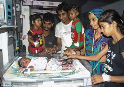 به دنیا آمدن چاق ترین نوزاد دنیا + عکس