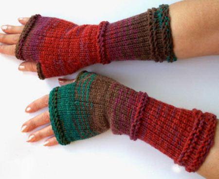 مدل های شیک و زیبای دستکش بدون انگشت زنانه