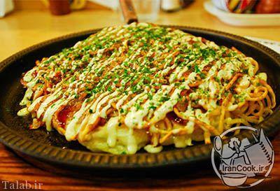 طرز تهیه پیتزا ژاپنی
