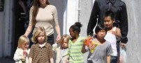 آنجلینا جولی و برد پیت کودک سوری را به خانواده خود اضافه کردند