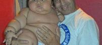 سنگین وزن ترین نی نی دنیا (+ عکس)