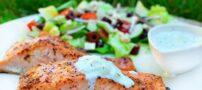 آموزش طبخ ماهی سالمون به روش آسیایی