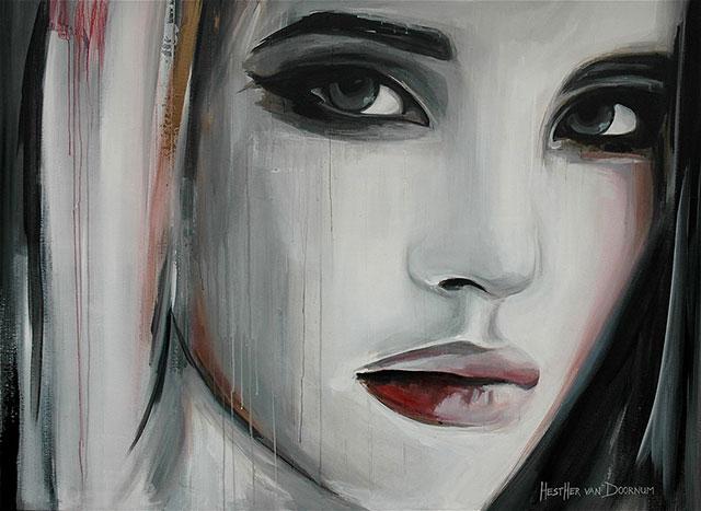 نقاشی های بی نظیر اثری از هدر ون دورنام