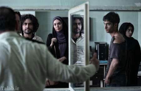 تیپ عجیب آزاده نامداری در فیلم نسیم + عکس